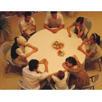 China wholesale 5 foot round folding table/5 ft round folding banquet table wholesale