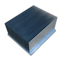 China Clear Alodined Aluminum Heatsink Extrusion Profiles 6063-T5 For Industry wholesale