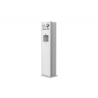 China ABS Plastic DC 9V Touch Free Hand Sanitizer Dispenser Free Standing Hand Sanitizer Design Color 10L wholesale