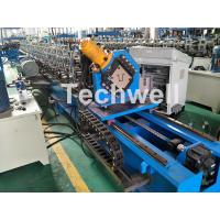 China Guiding Column Forming Structure Hat Profile Cold Roll Forming Machine For 15KW Motor Power wholesale