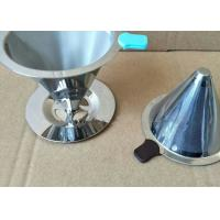 China Paperless Pour Over Coffee Filter , Dripper Stainless Steel Reusable Coffee Filter wholesale
