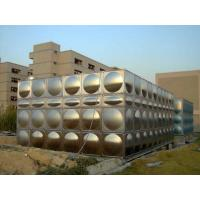 China Large Water Stainless Steel Water Tanks For Fire Water With ISO9001 wholesale