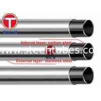 China GB/T 18704 Stainless Steel pipe Clad Steel Pipe Stainless Steel Tube 302 304 12Cr17Mn6Ni5N wholesale
