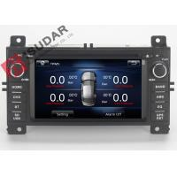 China Jeep Grand Cherokee Dvd Player , Double Din Car Stereo With Gps And Bluetooth on sale