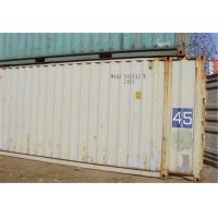 China 2nd Hand Used Steel Storage Containers For Goods Shipping 40RF wholesale