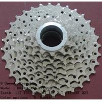 China High Speed Mountain Bike Freewheel , Carbon Steel 9 Speed Cassette wholesale