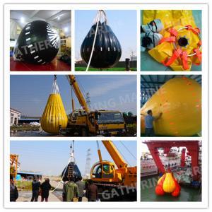 China High Strength & Intensity life boat crane&davit load test weight water bag wholesale