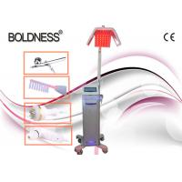 China Low Level Therapy Laser Hair Growth Machines 650nm With Ozone High Frequency Comb wholesale