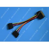 China SATA To Dual SATA Data Cable Splitter SSD HDD SATA Cable For Hard Drive wholesale