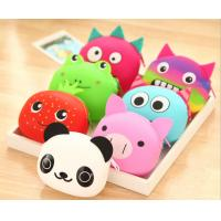 China cute cartoon animal coin purses fahion girls silicone storage bag wholesale creative gifts wholesale