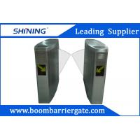 China Pedestrian Access Flap Barrier Gate With Time Attendance Management Applications wholesale