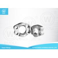 China Carbon Steel SAE Split Flange Clamps Hydraulic Pipe Fittings with Zinc Plate wholesale