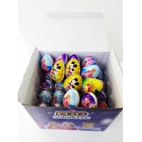 China 7g Chocolate Egg Funny And Lovely Kids' Snack Pop Snacks Taste Sweet And Crisp wholesale