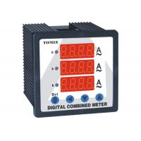 China Programmable Single Phase Digital DC Ammeter Combination Reading For 3 Current wholesale