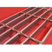 China Ditch Cover Stainless Steel Grating 304 Plain Bar Custom Cross Bar Spacing wholesale
