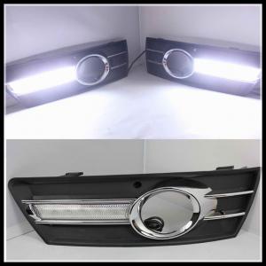 China VW CC PASSAT 2009-2013 LED FOG LAMPS LED DRL Daytime Running Light driving lamps wholesale