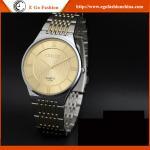 Fast&Furious 7 Unisex Watches Stainless Steel Strap Vintage Watch Retro Watch Golden Watch