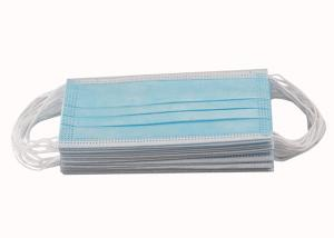 China CE FDA 3ply Non Woven Triple Layer Earloop Face Mask wholesale