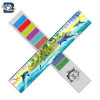 China 3d Or Flip Change Custom Printed Plastic Rulers For Kid Stationery wholesale