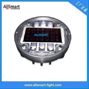 Solar road stud ASD-013 CE IP68 alluminum road solar road marker solar warning lights