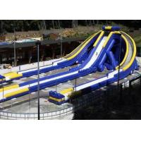 Quality Inflatable Triple Hippo Water Slide Largest Inflatable Slide For Outdoor for sale