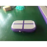 Buy cheap Professional Air Jumping Track Purple Inflatable Air Board Air Block For from wholesalers