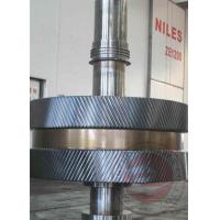 China Mining Industrial Open Die Forging Gear Ring Rolling Forging With 15000mm Length wholesale