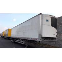China 13m 40 Ft Refrigerated Trailer , Air Suspension Refrigerated Enclosed Trailer on sale