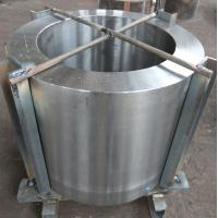 Quality 1.4923 Forged Sleeves Blanks Cylinder / Forging Pipe Max OD Is 2500mm for sale