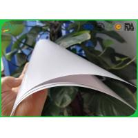 China High Glossy Art Paper 2 Side Coated White Color For Book Cover Printing on sale