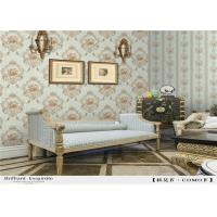 China Contemporary PVC Waterproof Wallpaper , European Style Wallpaper 0.53*10m/Roll on sale