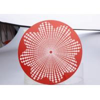 China Kitchen Utensils 3003 Aluminum Round Circle Multifunctional Red Painted wholesale