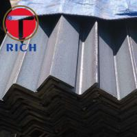 China Q235 SS400 Carbon Structural Steel Angle Sizes 2.5-20mm Equal Type wholesale