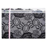 China Comfort Design Jacquard Elastic Lace Fabric For Lingerie OEM CY-HB0286 wholesale