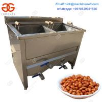 China Best Peanut Frying Machine|Stainless Steel Peanut Fryer Price|Factory Peanut Deep Frying Machine with High Efficiency on sale