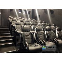 China Unique 5D Cinema Simulator With Leather Seats And Low Noise Cylinder wholesale