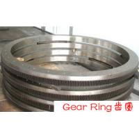 China SS 304L Rolled Ring Forging Flange EN10228 , Wind Turbine Gear Forging wholesale