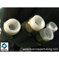 China Air Conditioner Connecting Insulation Copper Pipe with Forged Flared Nut wholesale