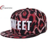 China Customized Snapback Fitted Baseball Hats 3D Embroidery with Striped Patterns wholesale