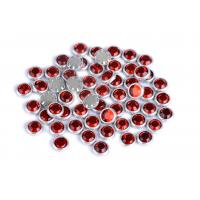 Flatback Loose Rimmed Rhinestones High Color Accuracy With Shinning Facets for sale