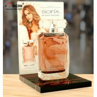 China Nice Fragrance Countertop Cosmetic Display Stand Acrylic Perfume Bottle Display Stands wholesale