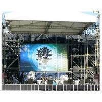 Quality 6500K Outdoor Full Color P12 LED screen 1R1G1B , Commercial LED Display 120 for sale