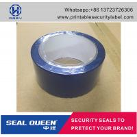 China Blue / Red Security Seal Tape , 25 Microns Tamper Evident Sealing Tape wholesale