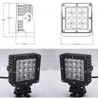 China 80 Watt Vehicle LED Work Lights with Die Casting Aluminum Body IP68 wholesale