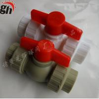 Wholesale ppr double union ball valve plastic valve pipe fittings for stop from china suppliers