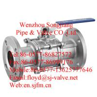 China flanged ball valve(3pc) wholesale