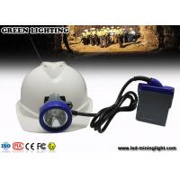 China IP68 Waterproof  6.6Ah Battery Coal Mining Lights with PC Bezel and Headlamp Housing wholesale