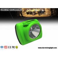 China CREE led Mining Cap Lights , Underground Cap Lamps rechargeable lithium ion battery wholesale