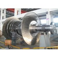 Quality Mechanical Steam Turbine Rotor Forging For Large / Small Gas Turbine Unit for sale