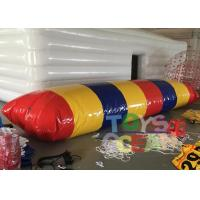 China 7x3m Commercial Garde Inflatable Water Blob Jumping Pillow for Aqua Game wholesale